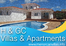 Menorca Holiday Villas and Apartments for Rent